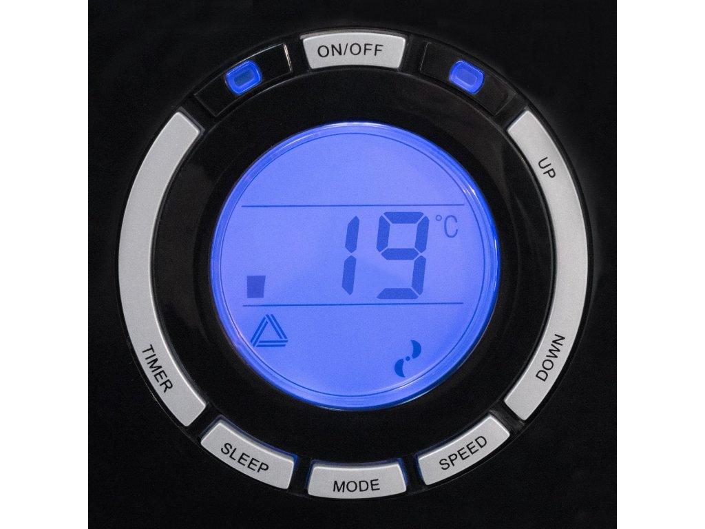 Panel de accionamiento del aire acondicionado Trotec PAC 4700 X