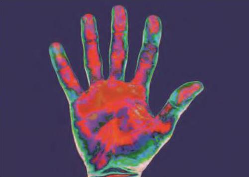 radiación infrarroja