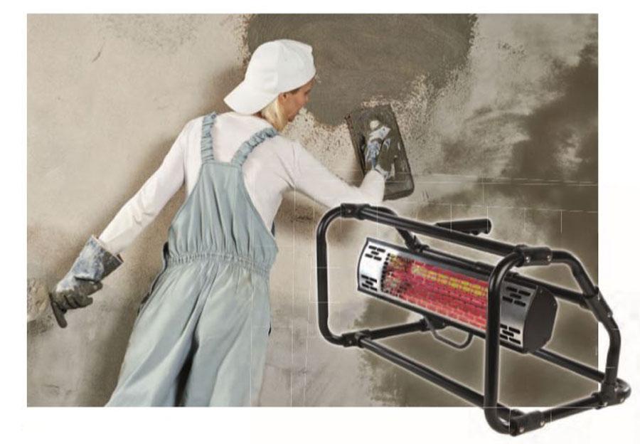 Calefactor CasaTherm B2000 para la construcción