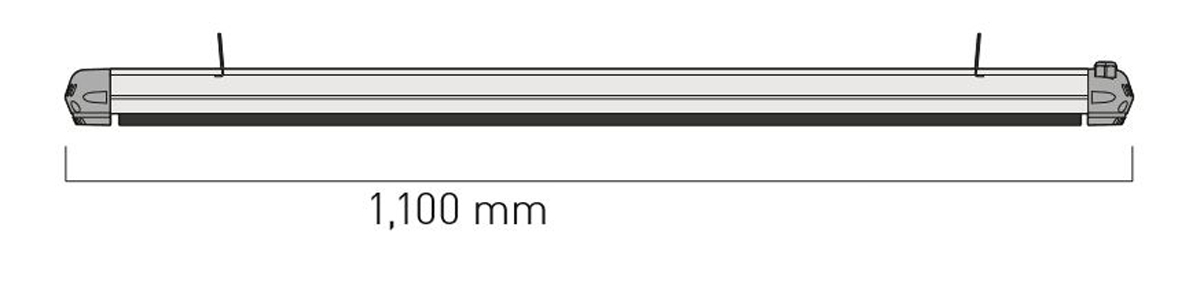 Dimensiones del calefactor para exteriores CasaFan 9815