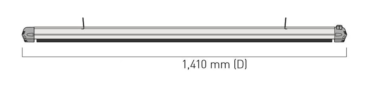Dimensiones del calefactor para exteriores CasaFan 9818194