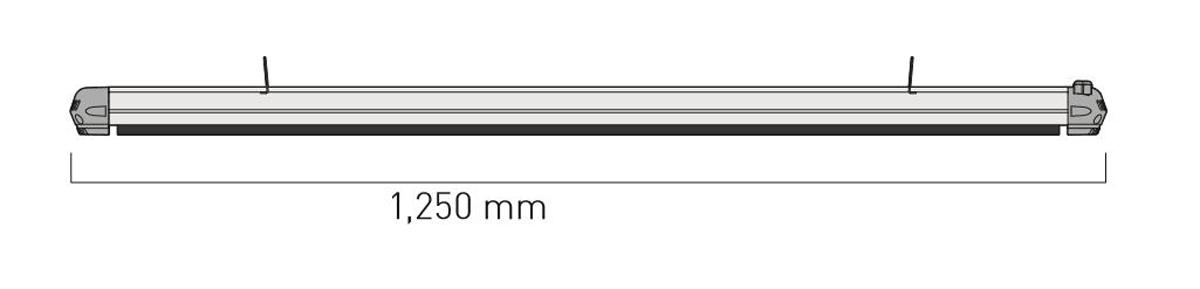 Dimensiones del calefactor para exteriores CasaFan 981819