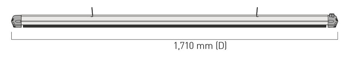 Dimensiones del calefactor para exteriores CasaFan 9824194