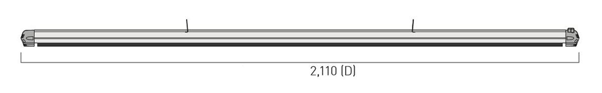 Dimensiones del calefactor para exteriores CasaFan 9832194