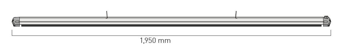 Dimensiones del calefactor para exteriores CasaFan 9832