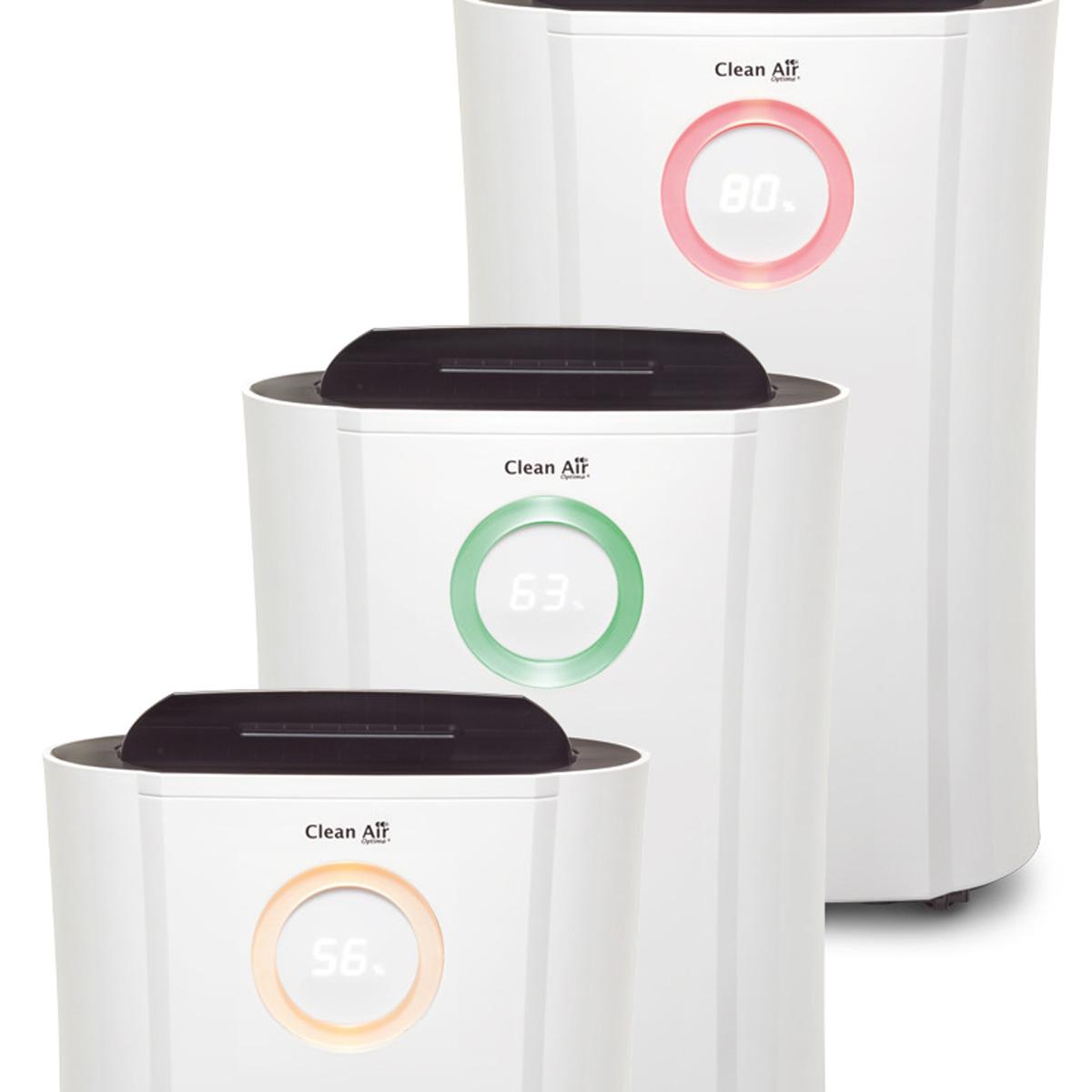 Deshumidificador y purificador de aire 2en1 Clean Air Optima