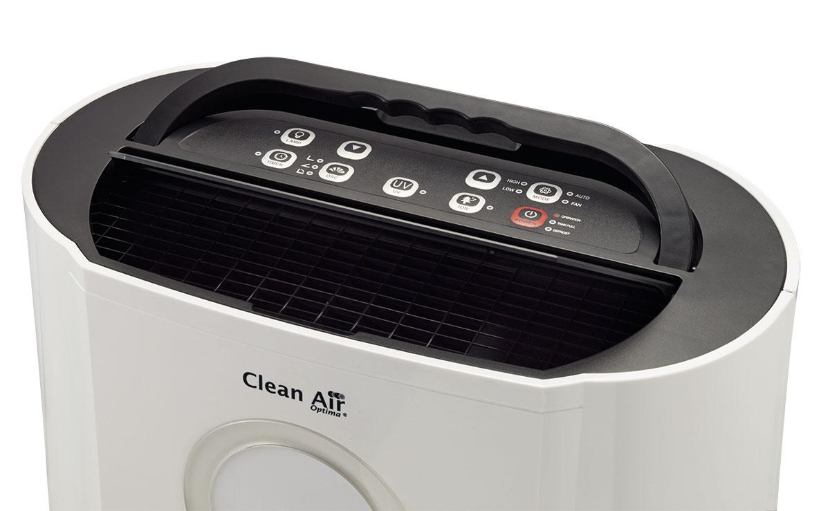 Panel del deshumidificador clean air optima CA-704