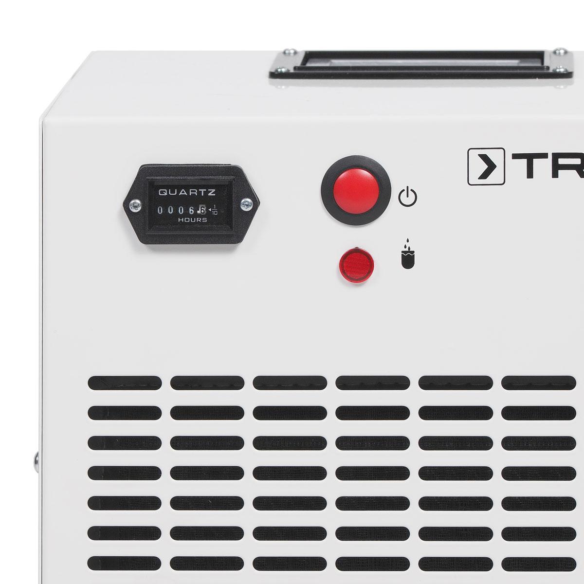 Panel del deshumidificador trotec TTK 75 ECO