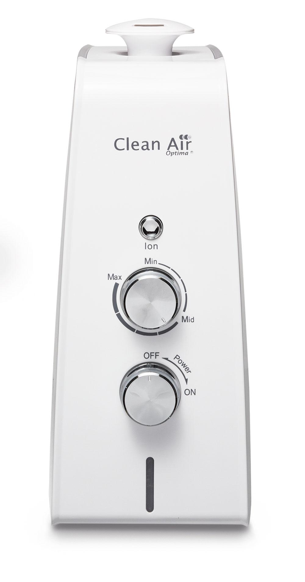 Humidificador de aire Clean Air Optim CA-602 panel de accionamiento