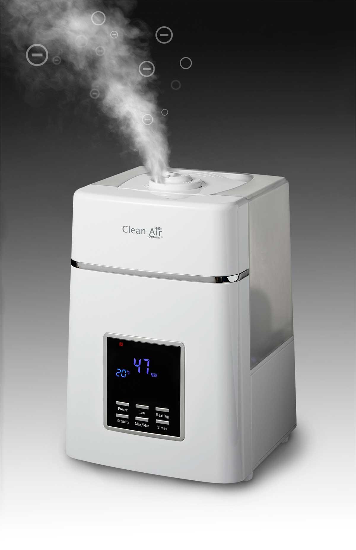 Humidificador de aire Clean Air Optim CA-604 panel de accionamiento