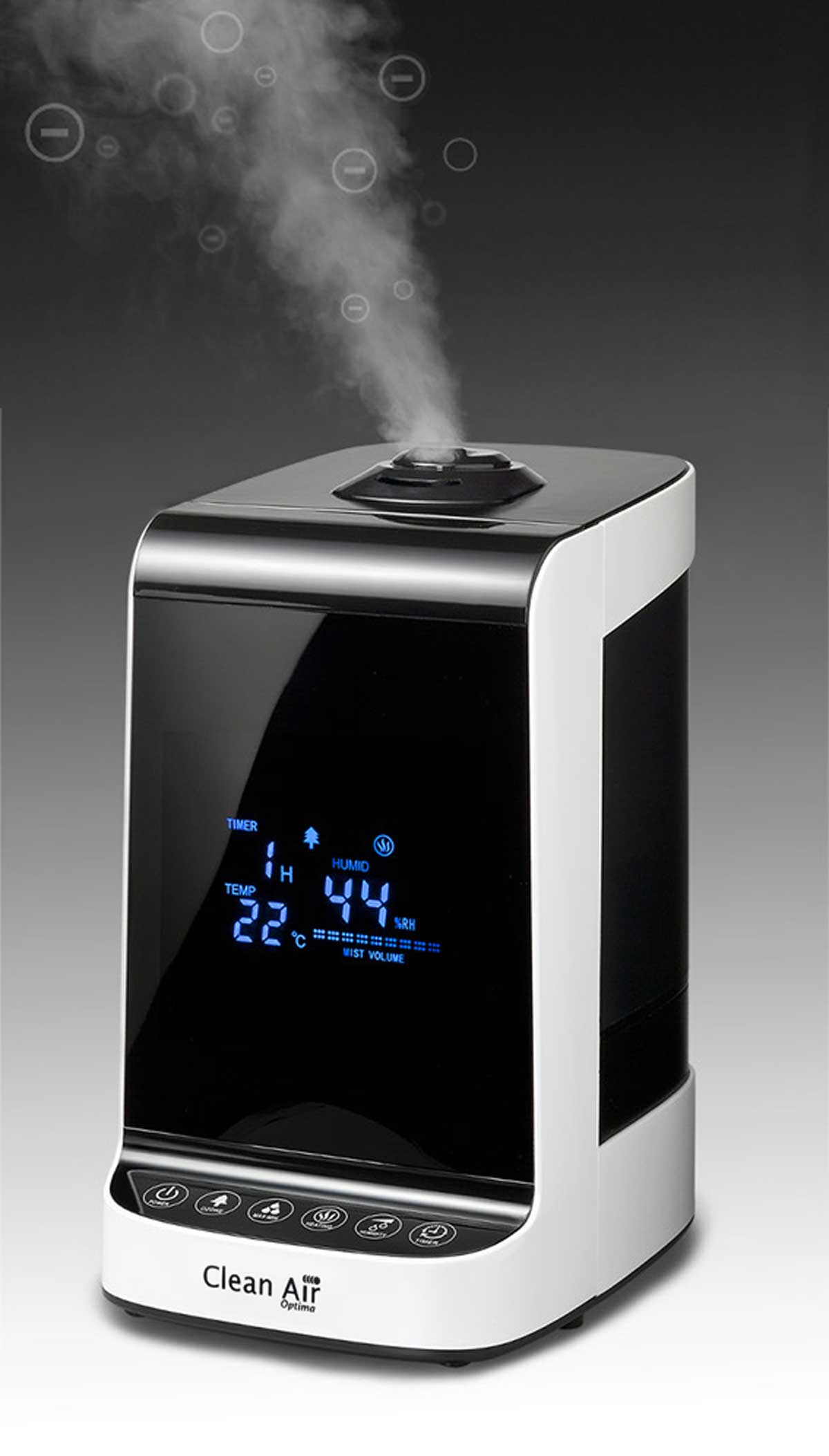Humidificador de aire Clean Air Optim CA-605 panel de accionamiento