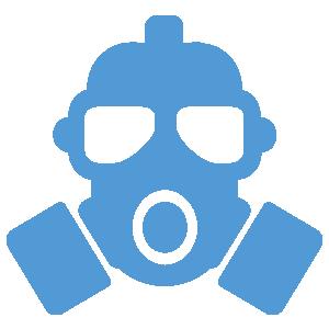 Elimina gases tóxicos y partículas