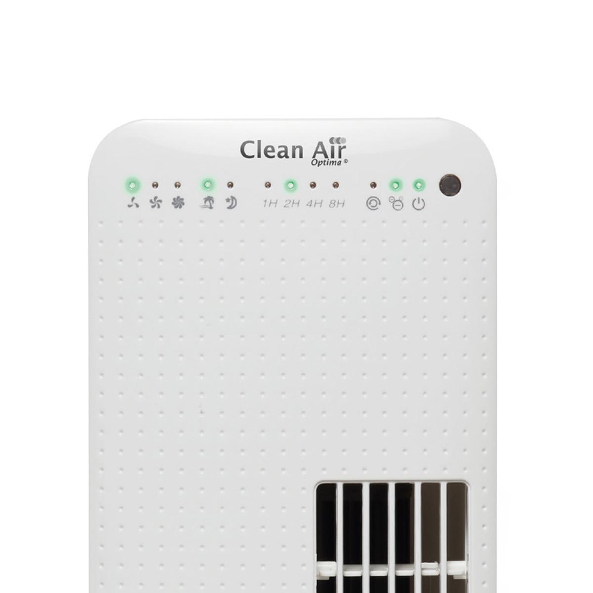 Indicadores luminisos del ventilador de pie Clean Air Optima CA-405