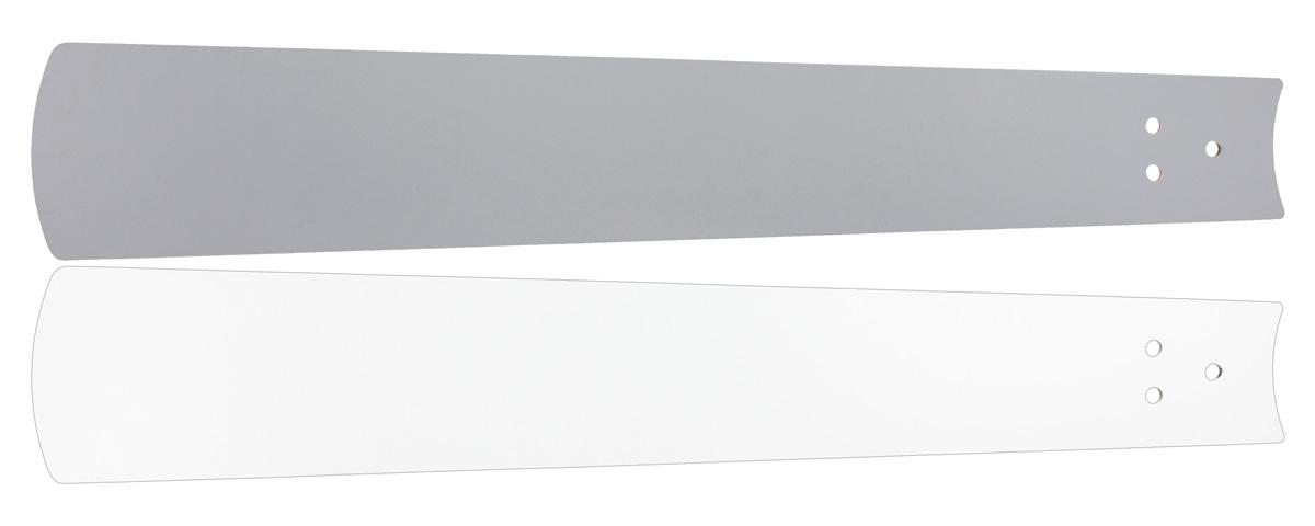 Aspas reversibles colores blancos y gris.