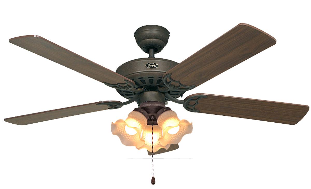 Ventilador de techo con luz casafan 512312 classic royal - Ventilador de techo con luz ...