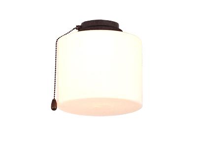Kit luz 1 b BA 10208 color marrón antiguo