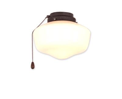 Kit luz 1 BA 10201 color marrón antiguo