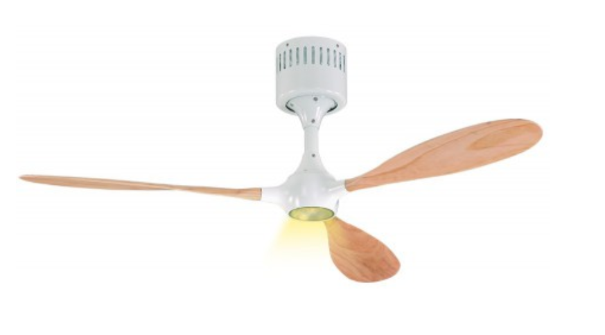 ventilador de techo 9313238 Helico Paddel WE-NB Nogal/ blanco