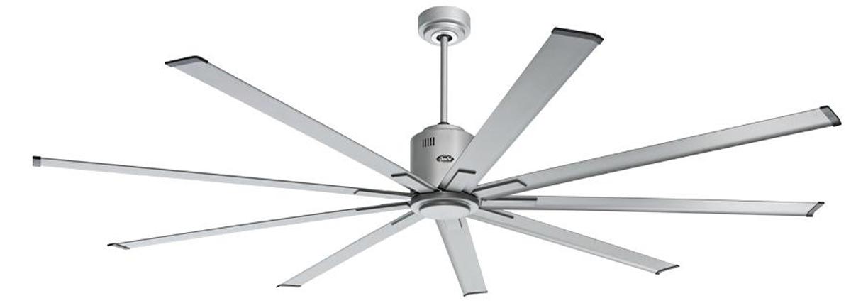 Ventilador de techo Casafan con luz 922012 Big smooth eco transparente