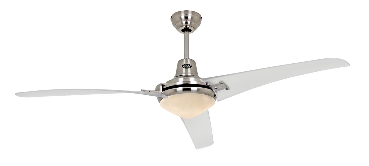 Ventilador de techo Casafan con luz 9313209 Mirage transparente