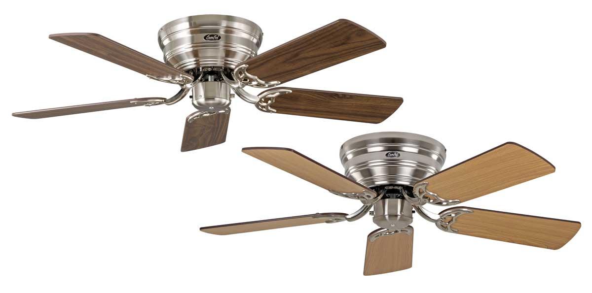 Ventilador de techo Casafan con luz 5103051 Classic Flat 103