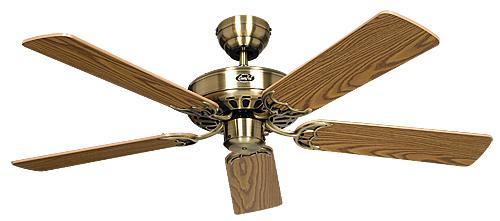 Ventilador de techo Casafan sin luz 513201 Classic Royal 132
