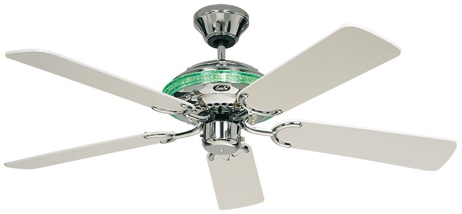 Ventilador de techo Casafan con luz 513237 Merkur