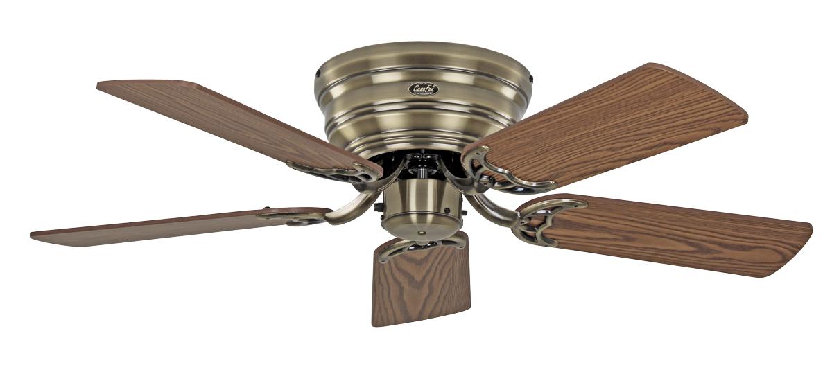 Ventilador de techo Casafan con luz 5103041 Classic Flat 132
