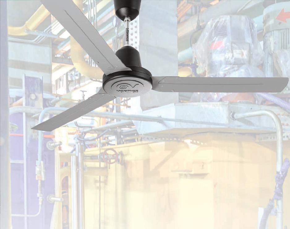 Ventilador de techo industriales Vortice