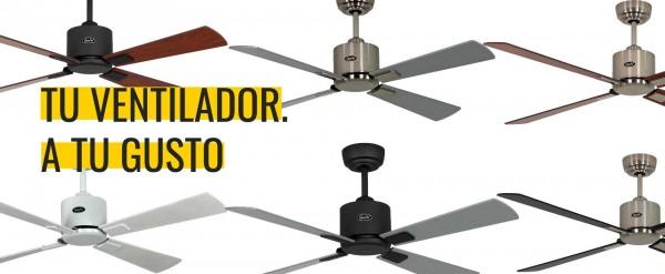 Personaliza tu ventilador de techo CasaFan Eco Neo II | Gavri.es