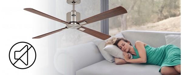 ¿Buscas un ventilador de techo ultra-silencioso? Duerme tranquilo con  ventiladores de techo DC