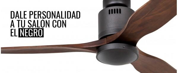 Ventilador de techo negros: una opción que intimida pero no defrauda